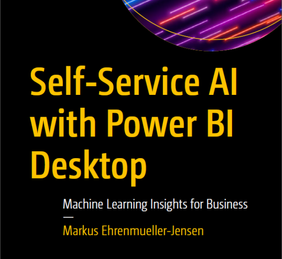 Book review – Self Service AI with Power BI Desktop